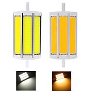 无 Lâmpada Espiga Decorativa R7S 18 W 1450 LM 2800-3200/6000-6500 K Branco Quente / Branco Frio 3 COB 1 pç AC 85-265 V T