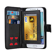 Magnetic 2 in 1 Luxury Leather Wallet Case Flip Cover+Cash Slot+Photo Frame Phone Case for Samsung Galaxy S5/S6/S6 Edge