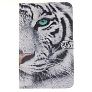 For Samsung Galaxy Case Card Holder / Wallet / with Stand / Flip / Pattern Case Full Body Case Animal PU Leather Samsung Tab E 9.6