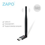 Zapo W88 mini USB WiFi scheda di rete wireless 150m accetta trasmettitore