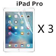 (3 peças) filme protetor de tela de alta definição para ipad pro