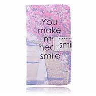 romantický třešeň pu materiál kabelka peníze telefon pouzdro pro Samsung Galaxy S6 hrana + / S6 hrana / S6 / S5 / S4 / s4mini / s3mini