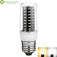 E27 8W 72 x 4014SMD 800LM Warm White / Cool White Light LED Refrigerator Candle Light Bed Corn Bulb(220-240V)