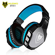 nubwo no-3000 desktop pc gaming headset hodesett spill stemme headset med mikrofon