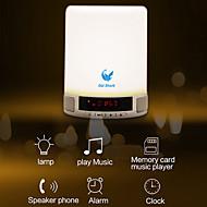 Oldshark® Portable Multifunctional Wireless Bluetooth Speaker Handsfree Touch LED Bedroom Lamp Alarm Clock