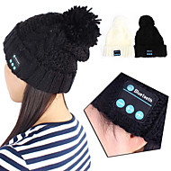 Bluetooth 3.0 Musik weichen Mütze Hut mit Stereo-Kopfhörerkopfhörerlautsprecher Wireless
