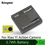 la batterie de 1010mha de Kingma pour xiaomi appareil photo de sport de la batterie de super-yi excellente batterie de matériau