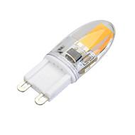 Dimmable G9 3W 300 lm 1 x COB Warm White / Cool White Light LED Bi-pin Bulb (AC 220-240 V)