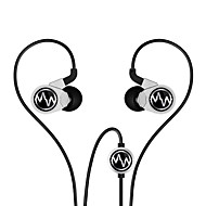 Macaw GT100s Hifi with Mic In-ear Earphone (Silver and Black)