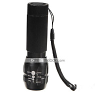 Lights LED Flashlights/Torch LED 500 Lumens 3 Mode Cree Q5 AAAWaterproof / Rechargeable / Impact Resistant / Strike Bezel / Emergency /