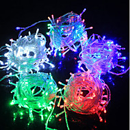 luces de colores LED String emisor de luz f5 diodo 100LED impermeable / ip65 3 color claro ac180-240v 10m / lot