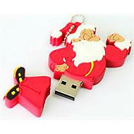 10x Babbo Natale bastone del usb, cartone animato flash drive qualità regalo di natale idea 8gb