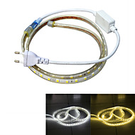 Jiawen Waterproof 13W 850LM 60x5050 SMD LED Flexible Light Strip (1M-Length / 220V)