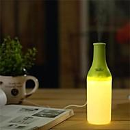 varmt ljus nattlampa usb mini vattenflaskor luftfuktare (diverse färg)