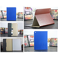 Luxury Grid Leather Case Card wallet Stand Smart Cover protective book cases For ipad 4/3/2(Assorted Color)