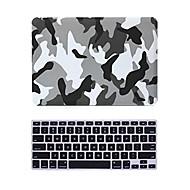 """2 σε 1 ματ επιφάνεια κρυστάλλου καουτσούκ σκληρή κάλυψη περίπτωσης για το MacBook Pro 13 """"/ 15"""" + πληκτρολόγιο κάλυψη"""