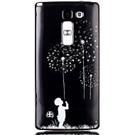 Varten LG kotelo Kuvio Etui Takakuori Etui Voikukka Pehmeä TPU LG LG Leon / LG C40 H340N / LG Spirit / LG C70 H422 / LG Magna H502