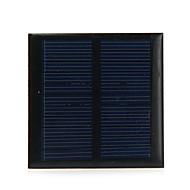 0.6W الناتج 5.5V الكريستالات السليكون الشمسية لوحة للديي