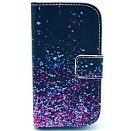 For Samsung Galaxy etui Pung Kortholder Med stativ Flip Mønster Etui Heldækkende Etui Farvegradient Kunstlæder for Samsung Style Duos