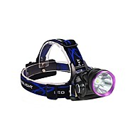 LT-05100 3Mode  CREE XM L2 LED Headlamp(2500lm.2X18650.Purple)