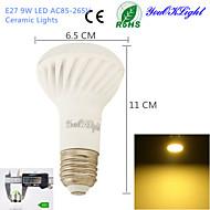 9W E26/E27 Lâmpadas de Foco de LED A50 18 SMD 5730 800 lm Branco Quente Decorativa AC 85-265 V 1 pç