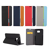 Mert Samsung Galaxy Note Kártyatartó / Állvánnyal / Flip Case Teljes védelem Case Vonalak / hullámok Műbőr SamsungNote 5 / Note 4 / Note