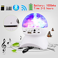 Family Party Auto Rotating Color Light Bluetooth Speaker