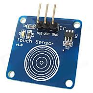 Raak sensor capacitive touch switch module voor Arduino - blauw
