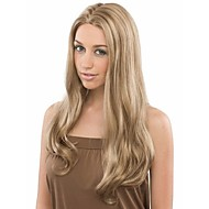 Hot Sellling  Blonde  Synthetic Hair Wave  Wigs Extensions Beautiful Style And Cheapest Price