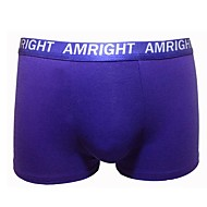 Am Right Hommes Mélange de coton Boxer Short AM004