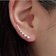 Rhinestone Alloy  Ear Cuffs Wedding / Party / Daily / Casual 1pc