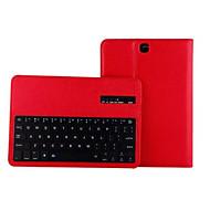pu lederen tas met bluetooth 3.0 toetsenbord voor Samsung tabblad s2 9,7 / s2 8.0 / 9.7 a / een 8,0 / 10,5 s / s 8,4 (verschillende
