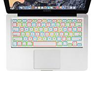 xskn yö valoisa silikoni kannettavan tietokoneen näppäimistö kattaa MacBook Air 13, MacBook Pro Retina 13 15 17, meille layout