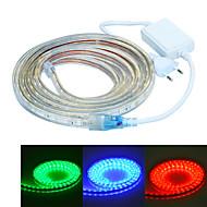 Jiawen 500 см водонепроницаемый 30w 300-5050smd 8-режим RGB LED гибкой полосой света (AC110 ~ 220В)