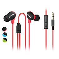 DIY högkvalitativa ultralätt sport hörlurar öra musik hörlurar för minskning mic buller anti-svett / vattentät / skid