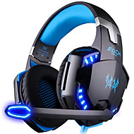 KOTION EACH G2000 Headphones Headband With Microphone DJ Volume Control Gaming Noise-Cancelling Hi-Fi