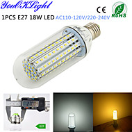 1 stuks YouOKLight E26/E27 18 W 138 SMD 2835 1500 LM Warm wit / Koel wit T Decoratief Maïslampen AC 220-240 / AC 110-130 V