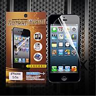 matte protezione dello schermo per iphone5 / 5s (3 pezzi)