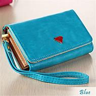 Luxus-Handy Brieftasche Handtasche Fall mit Kartenhalter für Samsung Galaxy S4 / S3 iPhone 5 / 5s
