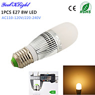 YouOKLight® 1PCS E14 8W 700lm 28-2835SMD 3000K High brightness & long life 45,000H LED Light AC110-120V/220-240V