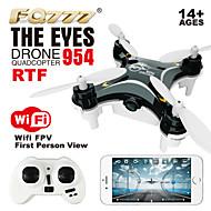 fq777-954 les yeux quadcopter rc contrôle de wifi frv nano plus petit drone UAV 2,4g quadrocopters 4ch rc rtf