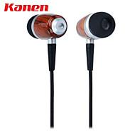 kanen IP-309 kannettava nappikuulokkeet kuuloke mikrofoni ja ohjauspainikkeella