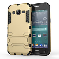 For Samsung Galaxy Case Shockproof / with Stand Case Back Cover Case Armor PC Samsung J5