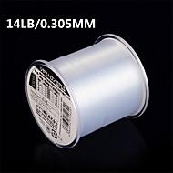 500M / 550 야드 모노필라멘트 투명 14LB 0.305 mm 용바다 낚시 / 플라이 피싱 / 베이트 캐스팅 / 얼음 낚시 / 스피닝 / 채 낚시 / 민물 낚시 / 다른 / 잉어 낚시 / 베이스 낚시 / 루어 낚시 / 일반적 낚시 / 건지러