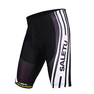 Cyclisme Cuissard à bretelles / Shorts Rembourrés Unisexe VéloRespirable / Séchage rapide / Limite les Bactéries / Confortable / La peau