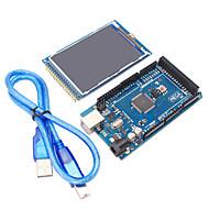 mega2560 R3 + 3,2 hüvelykes TFT ips 480 x 320 színes teljes szögű LCD modul Arduino