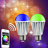 Smart Phone App Control Bluetooth LED RGB And Warmwhite Bulb