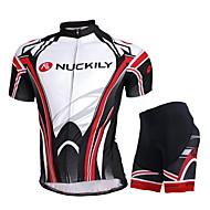 NUCKILY Vélo/Cyclisme Maillot / Cuissard  / Short / Maillot + Pantalon/Maillot+Collant / Ensemble de Vêtements/Tenus / Hauts/Tops Unisexe