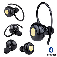 Mini Wireless Bluetooth Stereo Headset Headphone Earphone Mic For Samsung iPhone