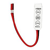 10pcs mini-RGB LED contrôleur 3 clé pour bande LED SMD 3528 5050 rgb lumière (12v 3x2a)